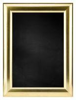 Krijtbord met M345 Houten Lijst - Goud