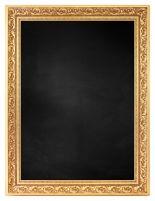 Krijtbord met M7040-1 Lijst - Goud