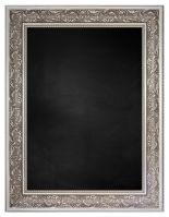 Krijtbord met M9545-2 Lijst - Zilver
